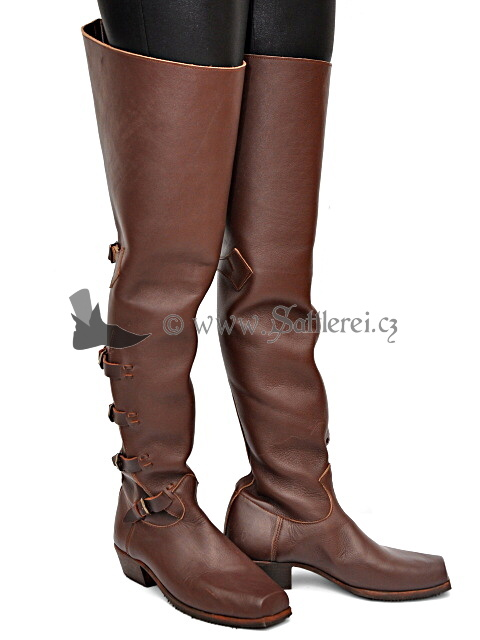 Baroque Boots Thirty Years`War Medieval Footwear