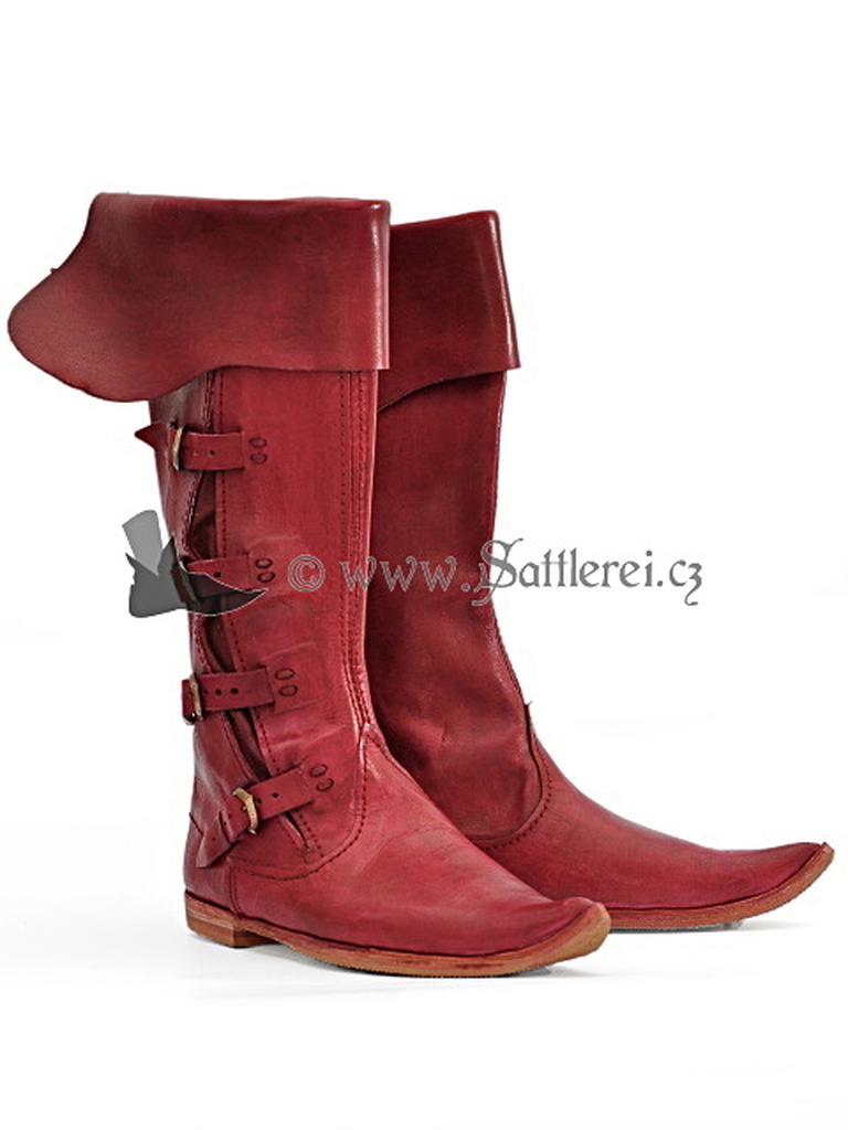Mittelalter hohe StiefelStiefel-mittelalter boots
